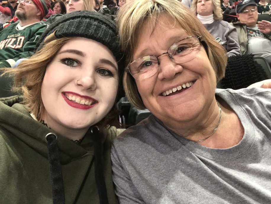 Mom and Me at Wild Game