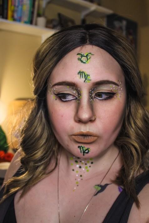 Zodiac Earth Makeup Mae Polzine 3