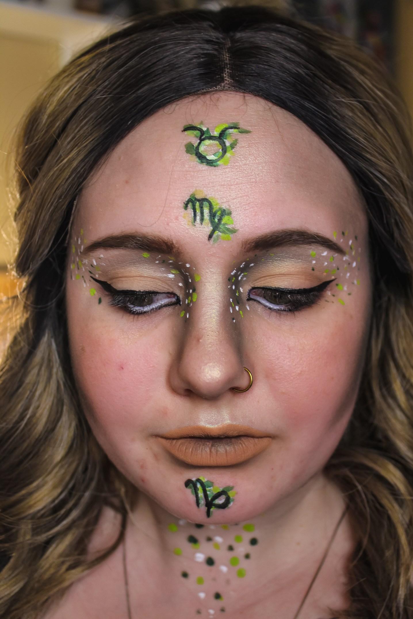 Zodiac Earth Makeup Mae Polzine 8