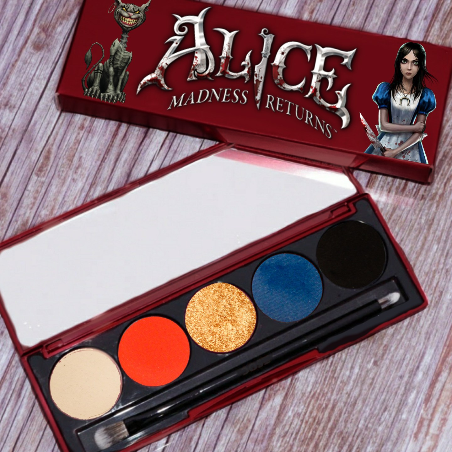 Making My Own Dream Palette Inspired by Alice: Madness Returns 1