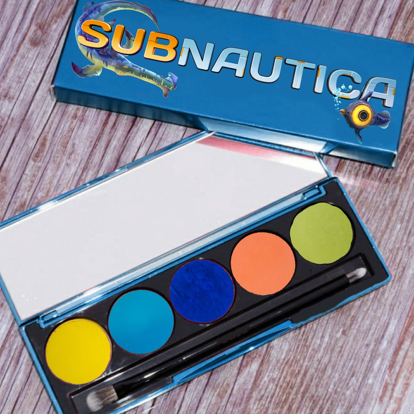 Making My Own Dream Palette Inspired by Subnautica 1