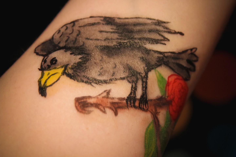 Maleficent's Raven Diablo