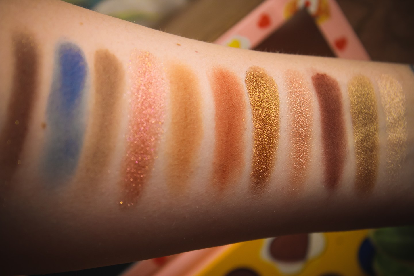 ColourPop x Zoella Brunch Date Collection Review & Swatches 10