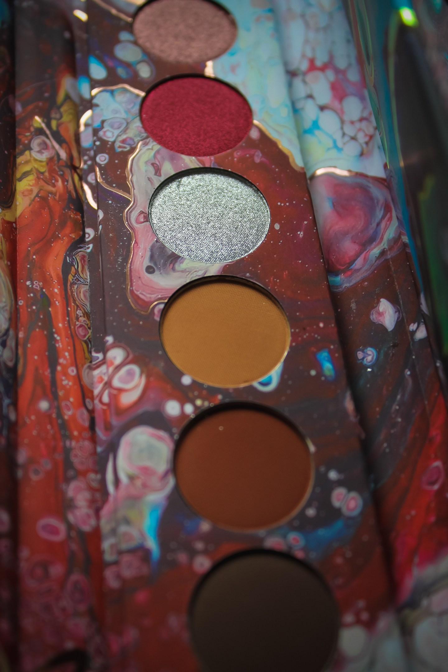 Kaleidos Makeup Futurism I-III Palettes Review 6