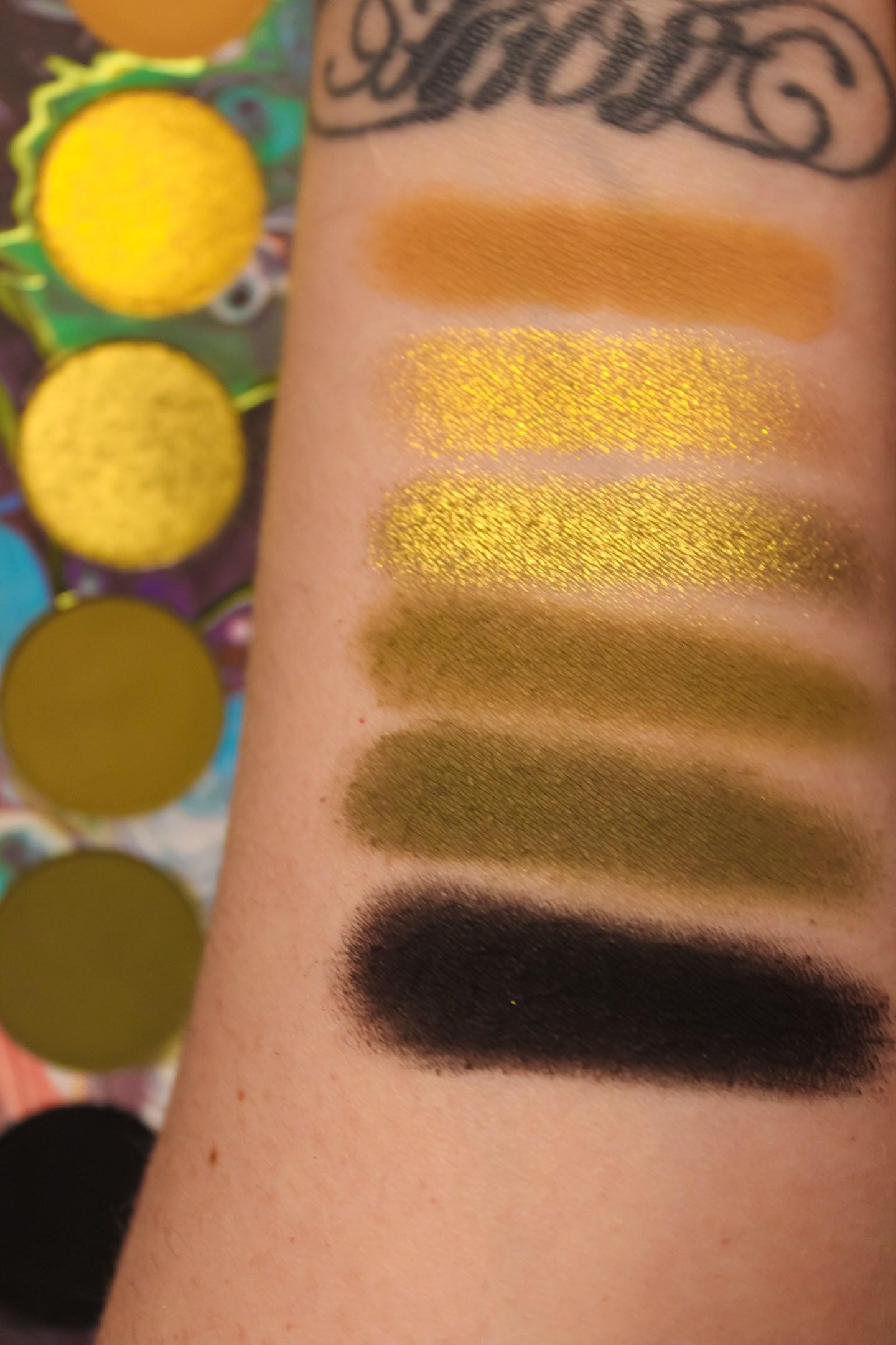 Kaleidos Makeup Futurism I-III Palettes Review 5