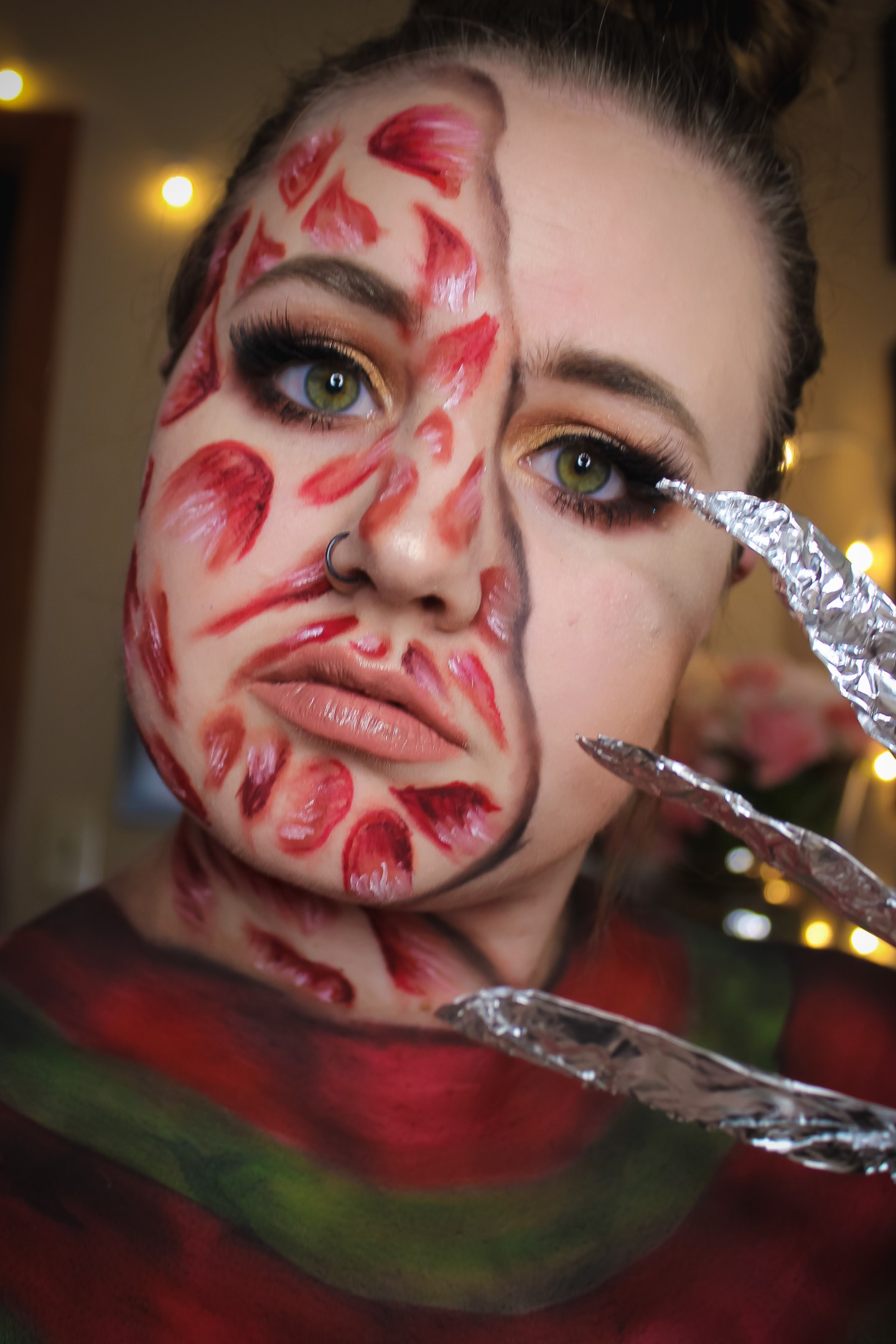 Why are you Screamin'? Freddy Krueger from A Nightmare on Elm Street Makeup Look 8