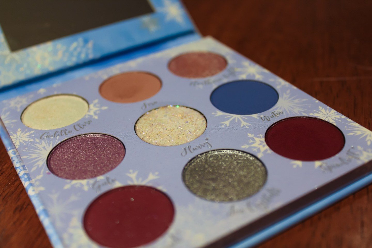 Are You the One I've Been Looking for? Overview of the ColourPop x Disney Frozen II Anna and Elsa Shadow Palettes 4