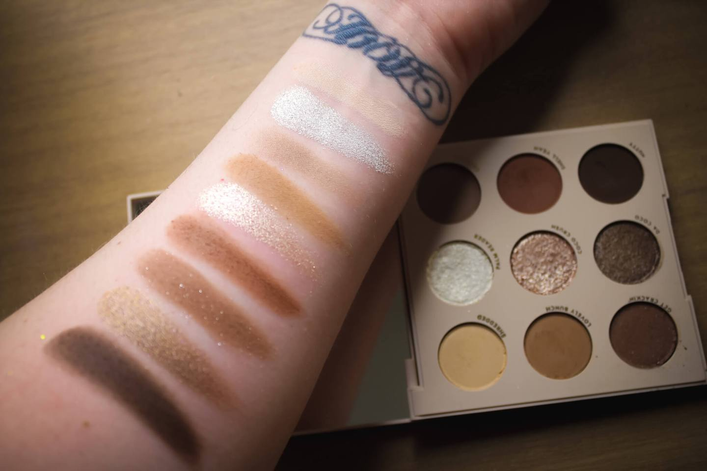Review & Swatches of the ColourPop 9-Pan Shadow Palettes (Part 2) 13