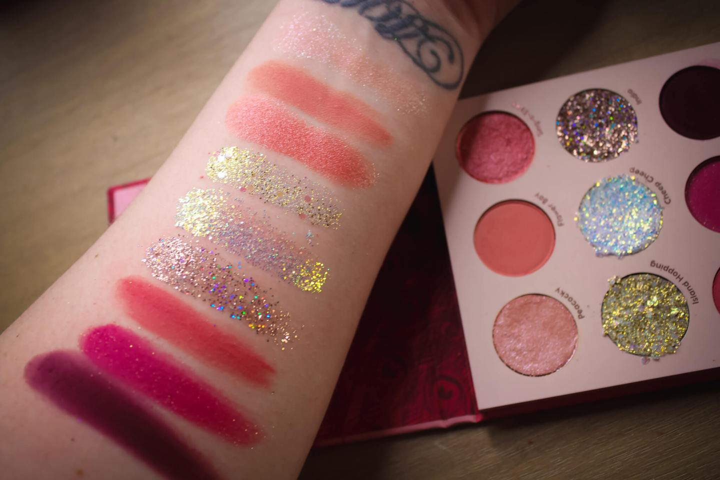Review & Swatches of the ColourPop 9-Pan Shadow Palettes (Part 2) 28