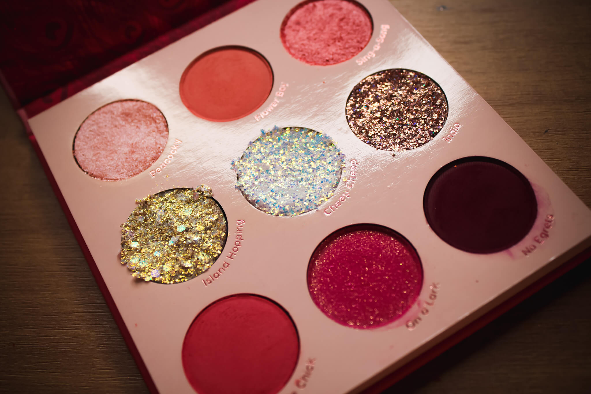 Birds Of Paradise Shadow Palette by Colourpop #21