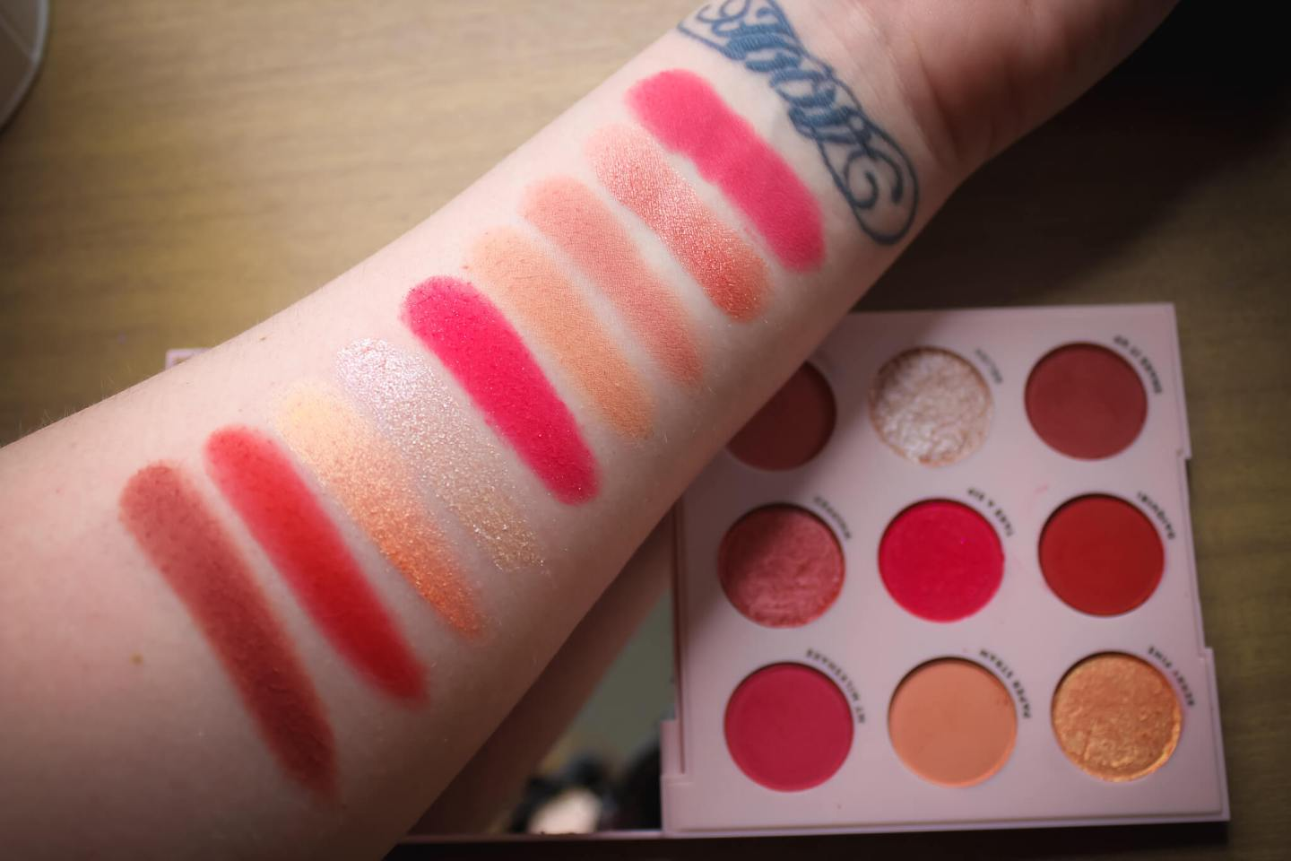 Review & Swatches of the ColourPop 9-Pan Shadow Palettes (Part 2) 10