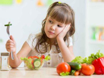 Crianças que não comem bem crescem ansiosas