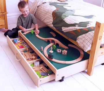 Idéias para organizar os brinquedos