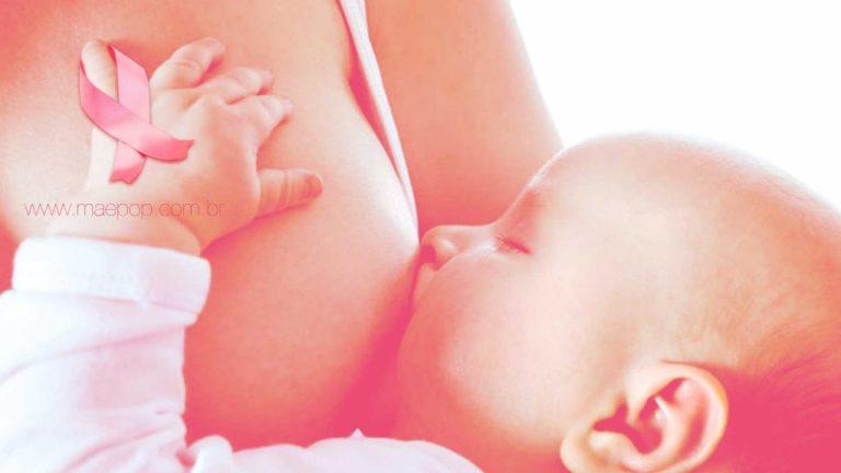 Amamentar diminui o risco de câncer de mama