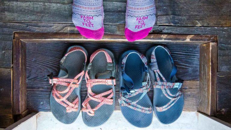 Não use sapatos dentro de casa