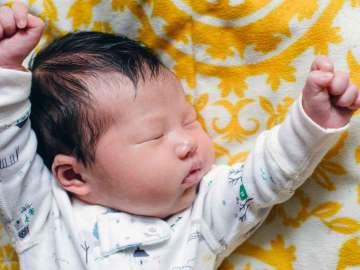 Regressão do sono do bebê