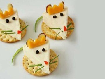 queijo para bebês e crianças