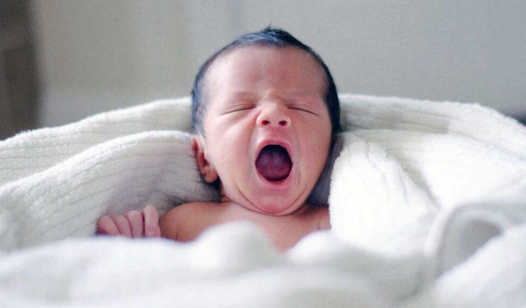 Bebê que dorme demais: o quê fazer para ele mamar?