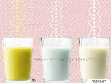 Tipos de leite materno