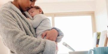 Levantar e andar com o bebê