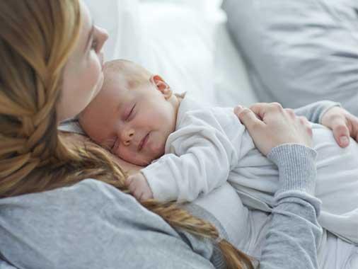 como acalmar o bebê