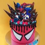 bolo do homem aranha