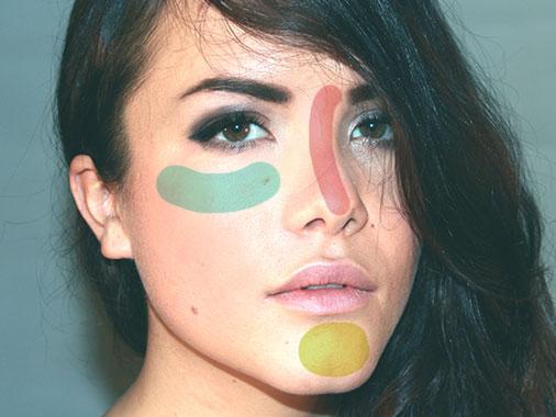 face mapping mapeamento facial