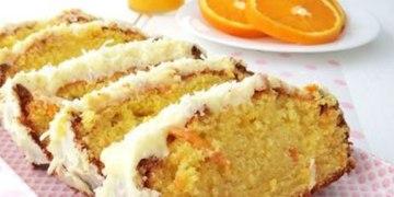receita de bolo de laranja simples