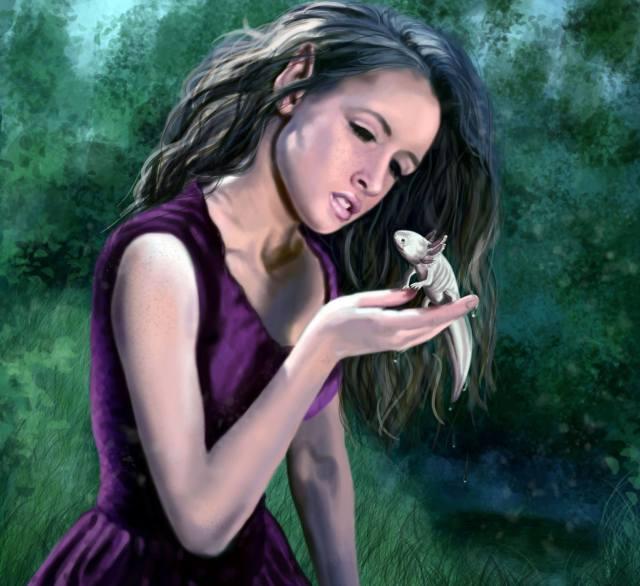 Dorothee Rund: Der Axolotlkönig