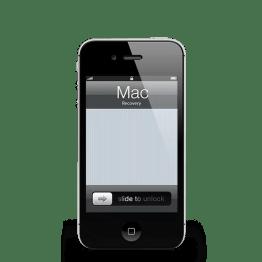 Reparar iPhone 4 Mac Recovery