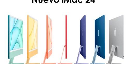 Apple presenta nuevos iMac 24 pulgadas