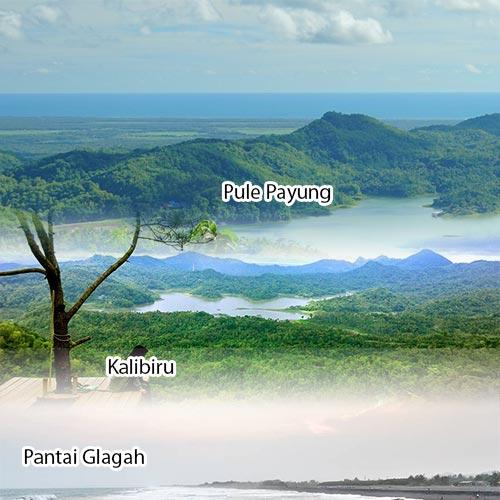 Trip Jogja 1D Kalibiru - Pule Payung - Pantai Glagah
