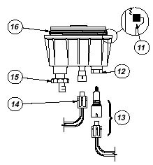 Racor Diesel Spin-On Series Filters / Water Separators