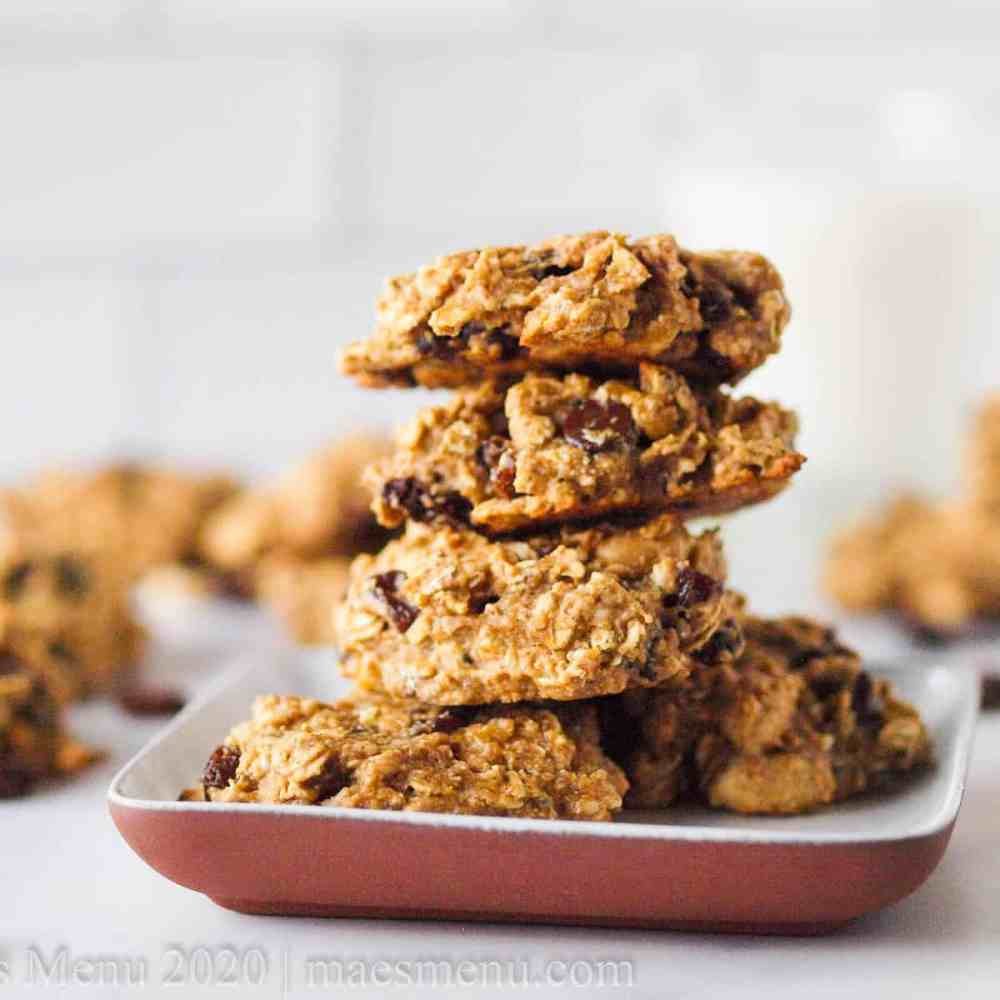 Oat Protein Cookies (Gluten-Free, No-Butter & No Processed Sugar!)