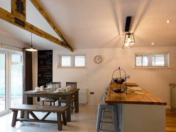 The Retreat Lodge Open Plan Living