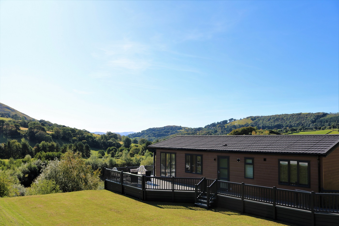 Luxury Lodge The Llewellyn Maes Mynan Park, North Wales