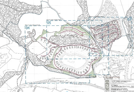 Plans for maes Mynan Park