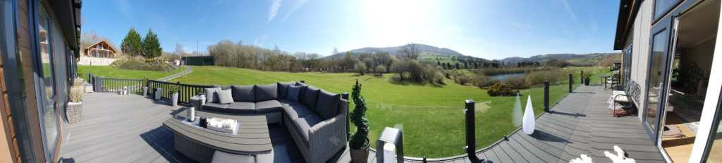 Large lodge plots and luxury lodges for sale | North Wales  North Wales