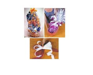 imagem de bombons, trufas e ovos de páscoa