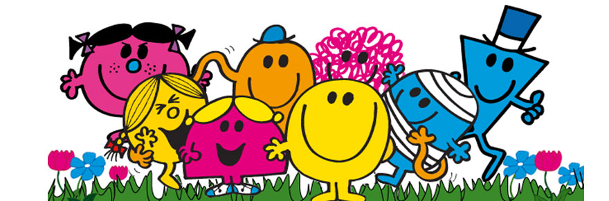 Mr. Men and Little Miss: libri per bambini in inglese