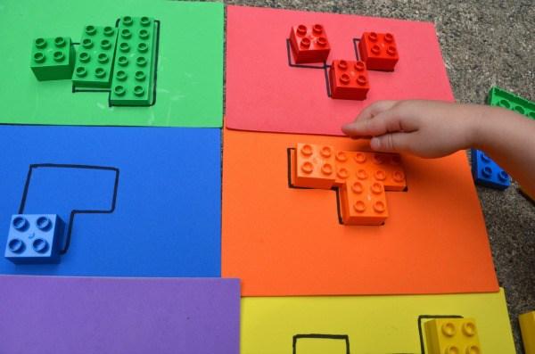 Puzzle di lego