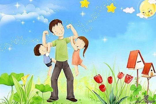 Tempo bello con papà - poesia per festa del papà