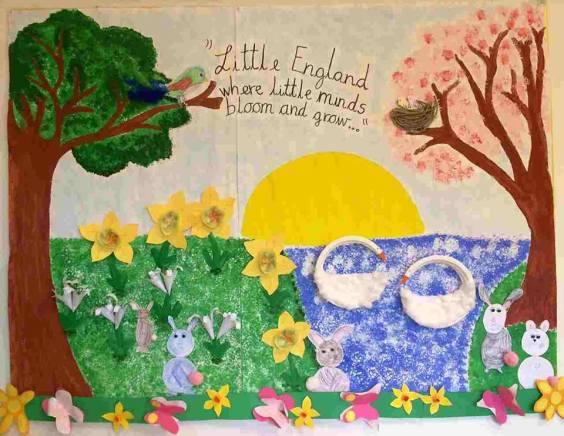 Primavera: pannelli per decorare la classe