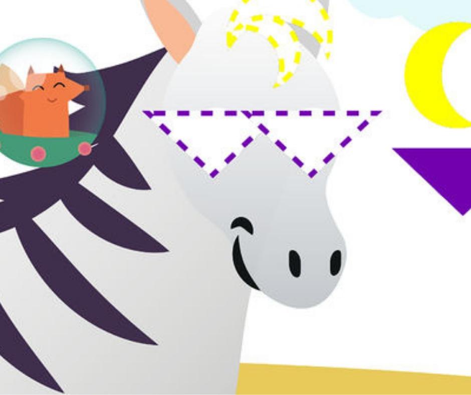 """Highlights Shapes"" puzzle per apprendere forme e colori in inglese (2-5 anni)"