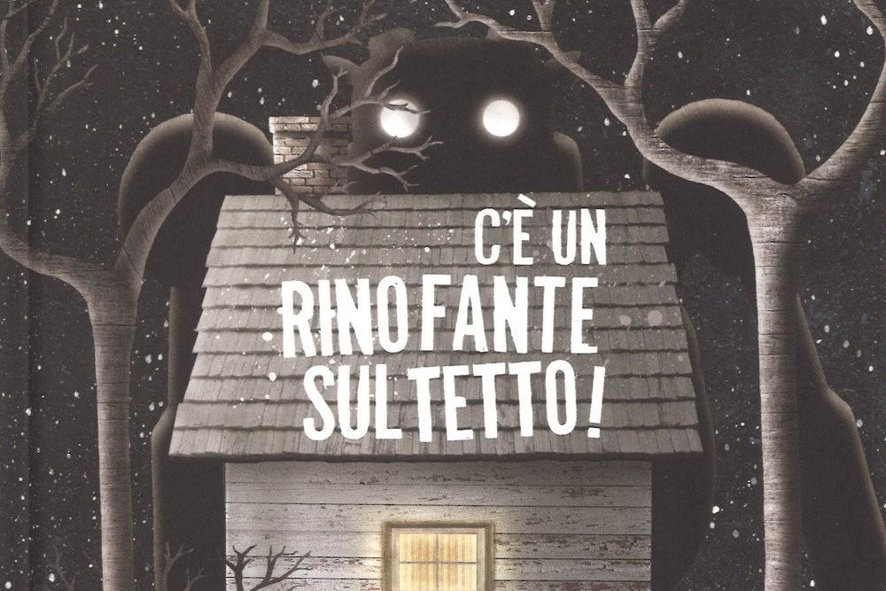 C'è un rinofante sul tetto