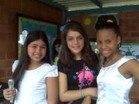 Yoheli, María y Marolga
