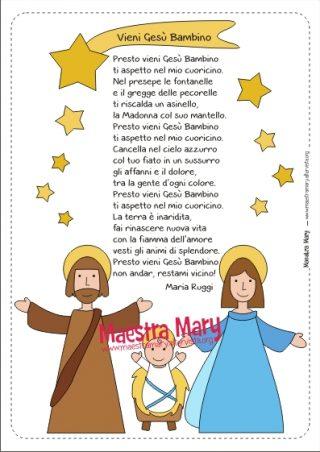 Troverete poesie di natale per la scuola primaria di. Poesie Di Natale Maestra Mary