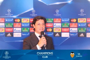 UEFA CHAMPIONS CLUB SPEAKER Maestro de Ceremonias