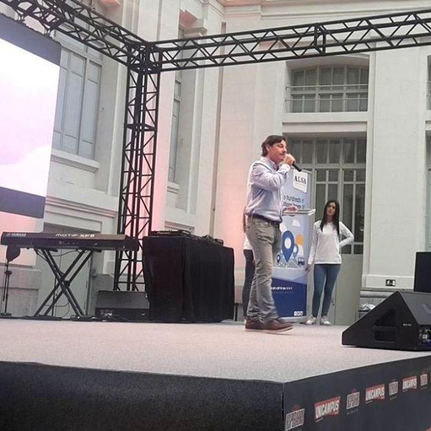 Studentwellcome day en Madrid, speaker bilingüe para ALSA, Edificio de correos ayuntamiento de Madrid. Www.presentadordeeventos.com www.maestrodeceremonias.esVer videohttps://www.youtube.com/watch?v=cqvhhMavf3Q+34 644 597 199#masterofceremonies #biligualMC #speakerevento #masterofceremoniesmadrid #maestrodeceremoniasAyuntamientodemadrid#presentadordeeventosayuntamientodemadrid