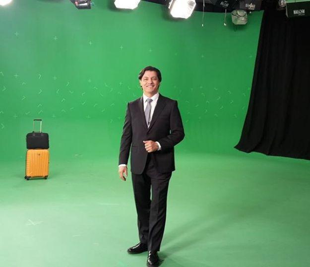 Hoy en un rodaje para El Corte Inglés. Www.guillermocasta.con Tel. 644 597 199